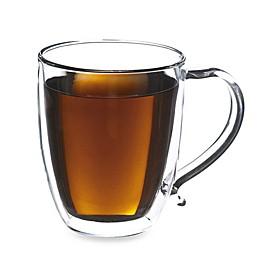 Grosche Cyprus 16-Ounce Double Walled Glass Mug