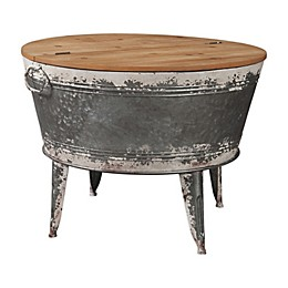 Signature Design by Ashley® Shellmond Accent Table in Grey/Natural
