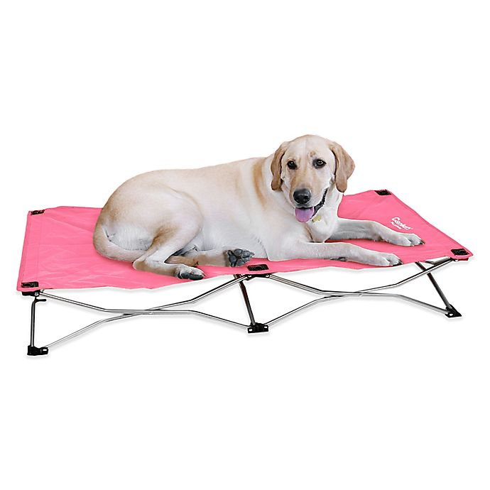 Alternate image 1 for Portable Large Pup Bed in Pink