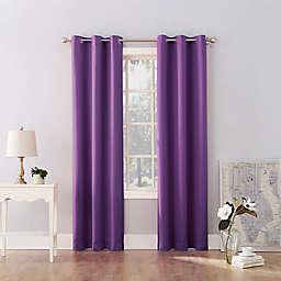 Sun Zero® Riley Kids Bedroom 95-Inch Grommet Room Darkening Window Curtain Panel in Purple