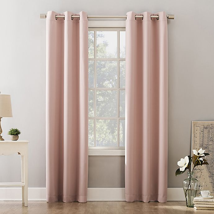 Alternate image 1 for Sun Zero® Riley Kids Bedroom Grommet Room Darkening Window Curtain Panel