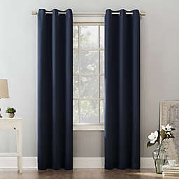 Sun Zero® Riley Kids Bedroom 84-Inch Grommet Room Darkening Window Curtain Panel in Navy