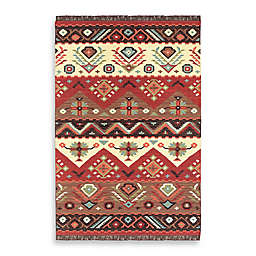 Surya Estarreja Rug in Red/Brown