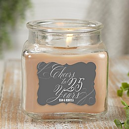 Cheers to Years Walnut Coffee Cake Candle Jar