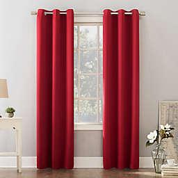 Sun Zero® Riley Kids Bedroom 95-Inch Room Darkening Curtain Panel in Red (Single)