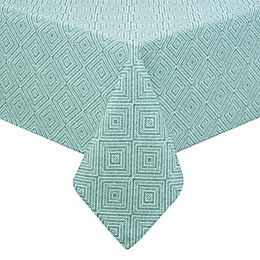 Diamond Trellis Indoor/Outdoor Table Linen Collection