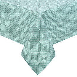 Diamond Trellis Indoor/Outdoor Tablecloth