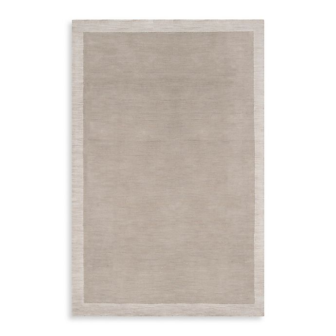 Alternate image 1 for Surya Madison Square 5'x 7'6 Bordered Area Rug in Cobblestone