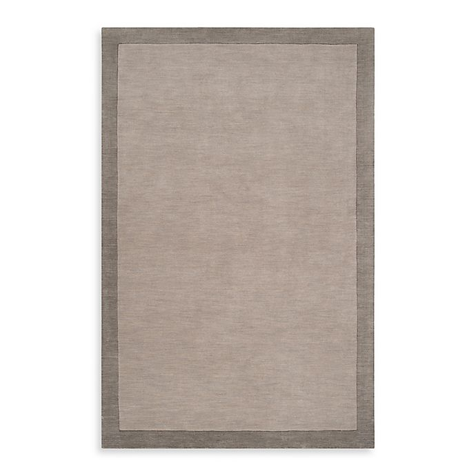 Alternate image 1 for angelo:HOME Madison Square Bordered Rug in Pewter