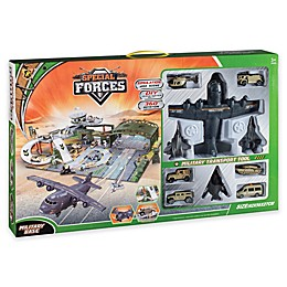 Special Forces 12-Piece Military Base Play Set