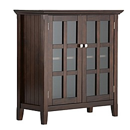Simpli Home Acadian Solid Wood Storage Cabinet
