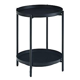 Simpli Home™ Monet End Table in Black