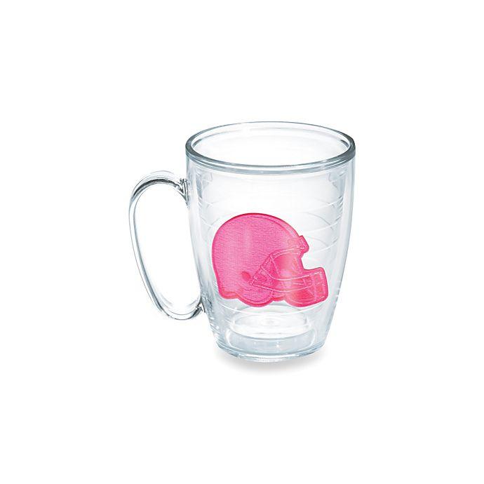 Alternate image 1 for Tervis® Cleveland Browns 15-Ounce Emblem Mug in Neon Pink