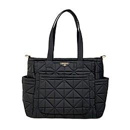 TWELVElittle Carry Love Tote Diaper Bag in Black