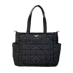 TWELVElittle Carry Love Tote Diaper Bag in Black