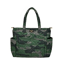 TWELVElittle Carry Love Tote Diaper Bag in Camo