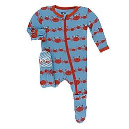 KicKee Pants® Crab Family Footie in Blue