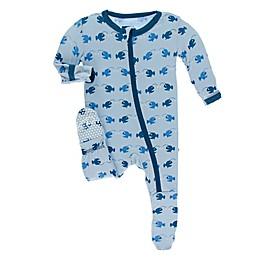 KicKee Pants® Angler Fish Footie in Blue