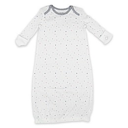 Calvin Klein Multi Letter Sleep Gown in White