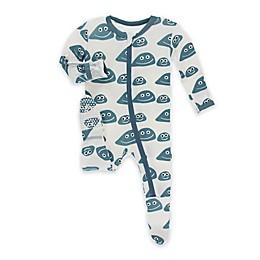 KicKee Pants® Toddler Rocks Footie Pajama in Blue