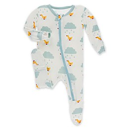 KicKee Pants® Toddler Puddle Duck Footie Pajama in Blue