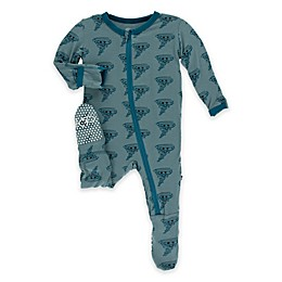 KicKee Pants® Happy Tornado Footie Pajama in Blue