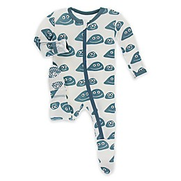 KicKee Pants® Rocks Footie Pajama in Blue