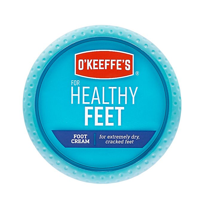 Alternate image 1 for O'Keeffe's® Healthy Feet™ 3.2 oz. Foot Cream Jar