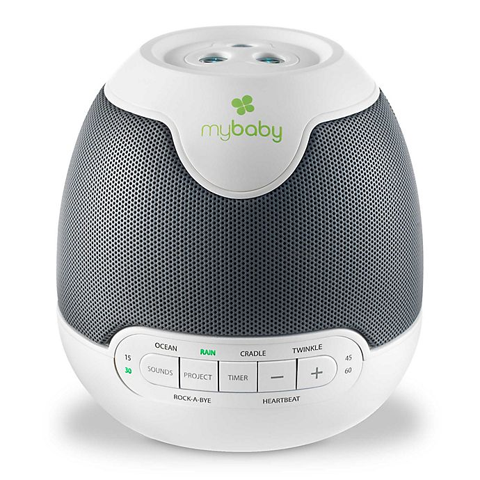 Alternate image 1 for HoMedics® MyBaby Lullaby SoundSpa with Image Projection in White