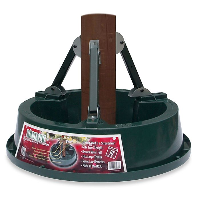 Standtastic Heavy-Duty Christmas Tree Stand for Trees up to 10-Foot ...