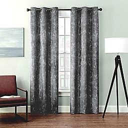 Brookstone® Velvet Sprigs Grommet Blackout Window Curtain (2-Pack)