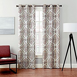 Brookstone® Velvet Serra Grommet Blackout Window Curtain (2-Pack)