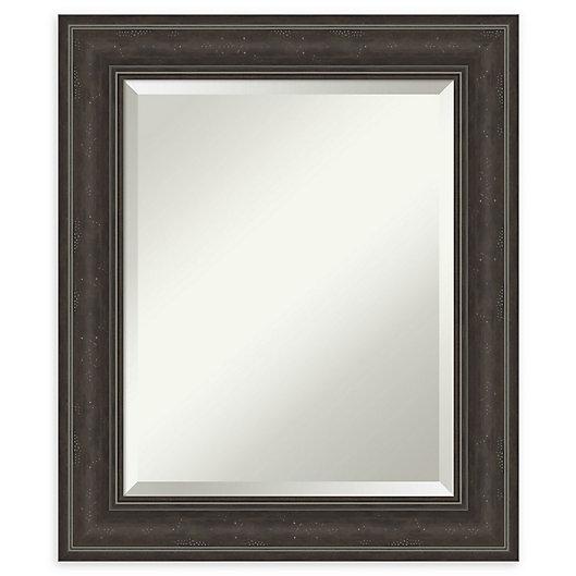 Alternate image 1 for Amanti Art Shipwreck Framed Bathroom Vanity Mirror in Greywash/Brown