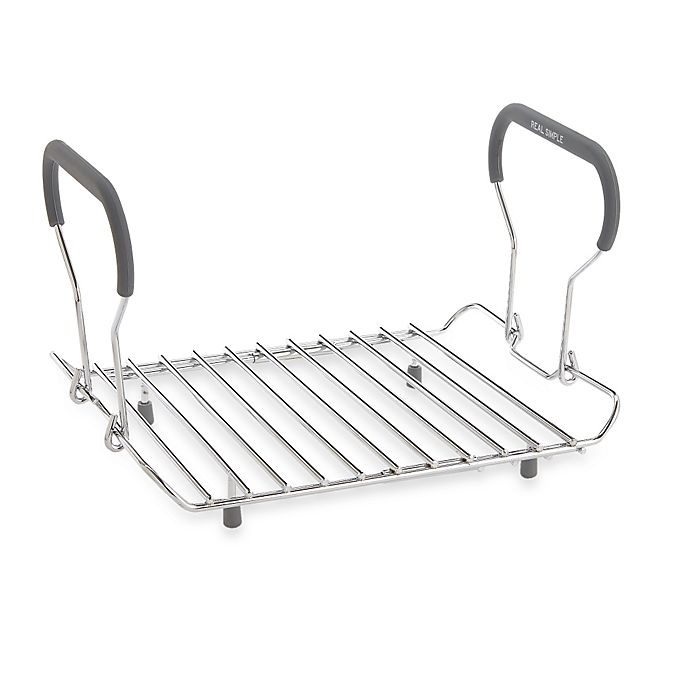 Alternate image 1 for Real Simple® Expandable Roasting Rack