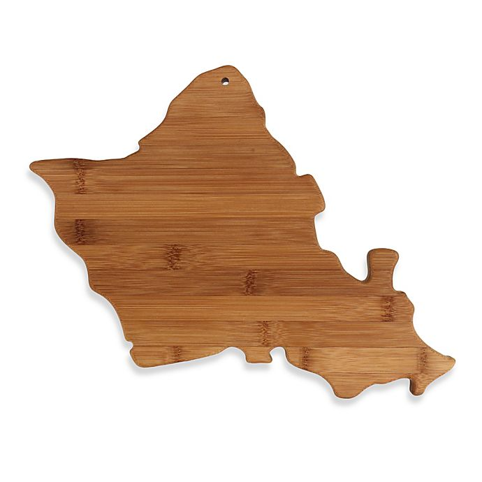 Alternate image 1 for Totally Bamboo Oahu Cutting Board