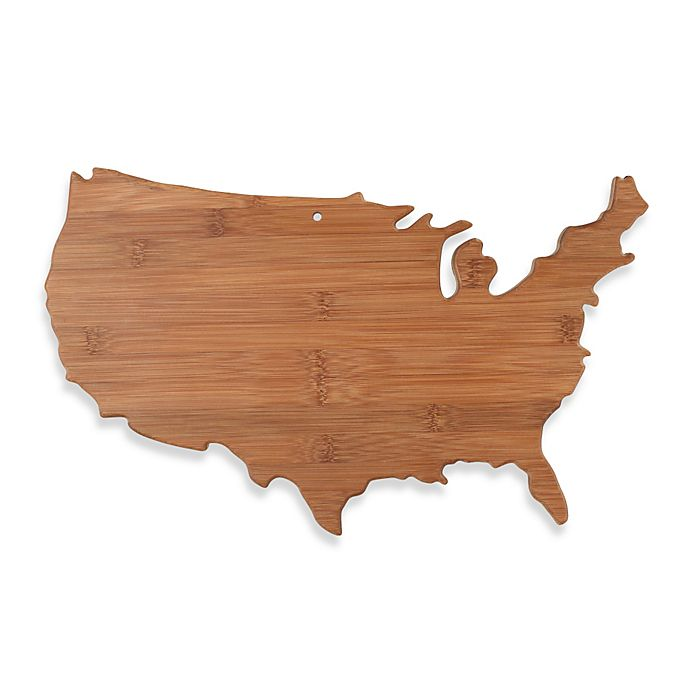 Alternate image 1 for Totally Bamboo USA Cutting/Serving Board