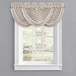 J. Queen New York™ Rigoletto Waterfall Window Valance in Blush
