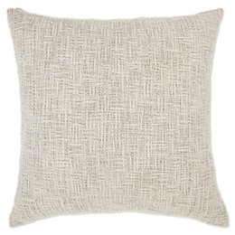 Bee & Willow™ Home Textured Square Throw Pillow in Grey