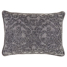 Bee & Willow™ Home Embroidered Oblong Throw Pillow in Grey