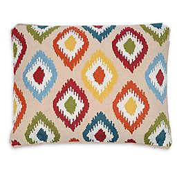 Levtex Home Amelie Ikat Multicolor Oblong Throw Pillow