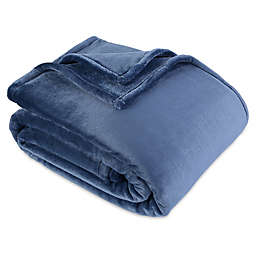Berkshire Blanket® VelvetLoft® Ecothread Full/Queen Blanket in Cadet Blue