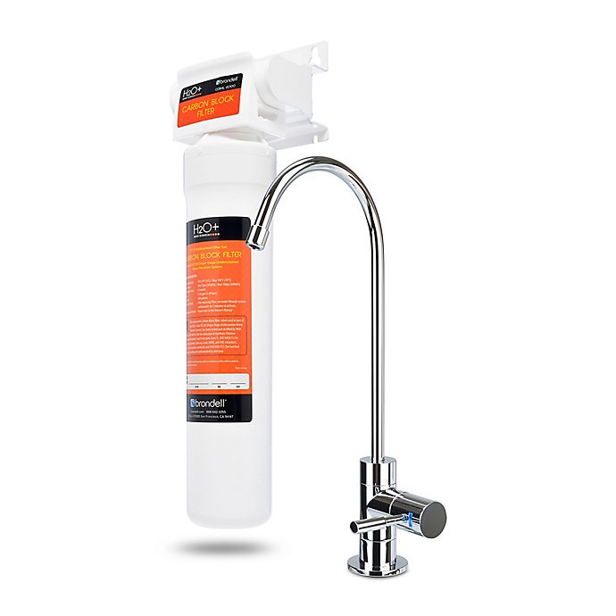 Alternate image 1 for Brondell® H2O+ Coral Premium Single-Stage Under Sink Water Filter System