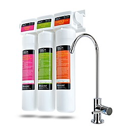 Brondell® Coral H2O+ Coral Premium Three-Stage Under Sink Water Filter System