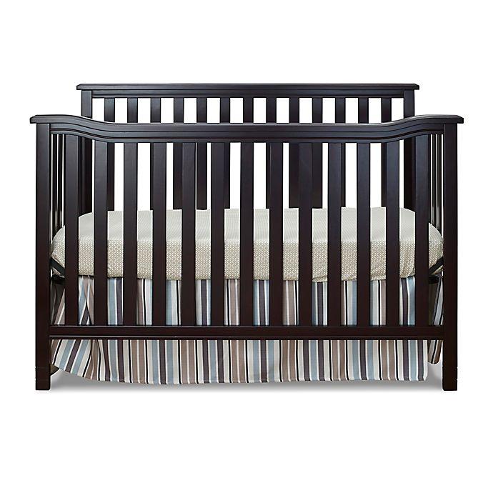 Alternate image 1 for Sorelle Berkley 4-in-1 Flat Top Convertible Crib