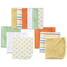 Luvable Friends® 12-Pack Washcloths in Yellow