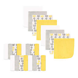 Luvable Friends® 24-Pack Washcloths in Yellow Ducks
