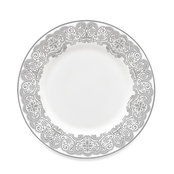 Alternate image 1 for Waterford® Lismore Lace Platinum Salad Plate