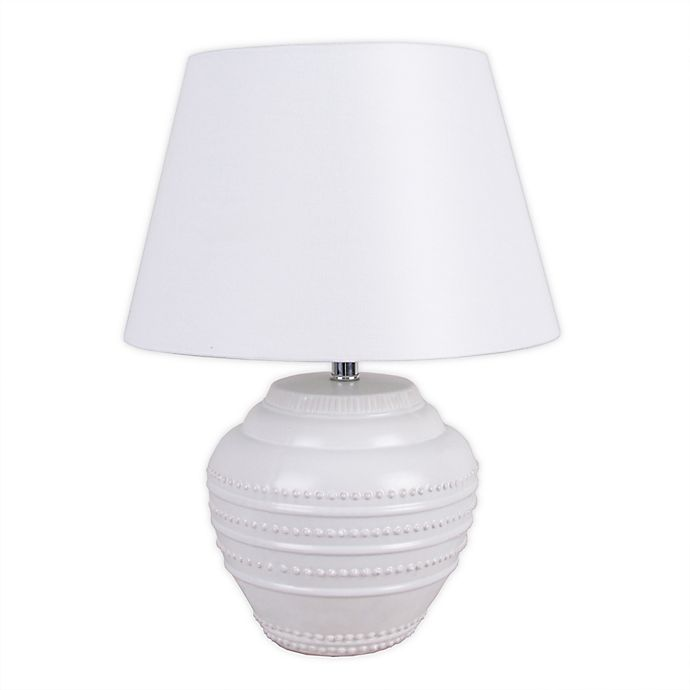 Alternate image 1 for Bee & Willow™ Home Sonia Table Lamp in White