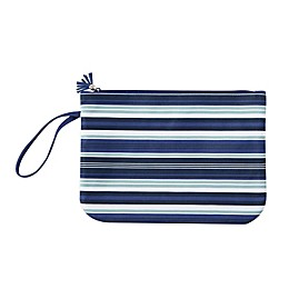 Swimsuit Sack in Navy Sawyer Stripe