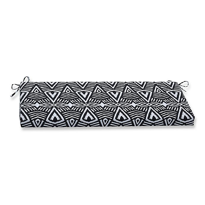 Fine Pillow Perfect Bench Cushion In Tribal Dimensions Black Caraccident5 Cool Chair Designs And Ideas Caraccident5Info